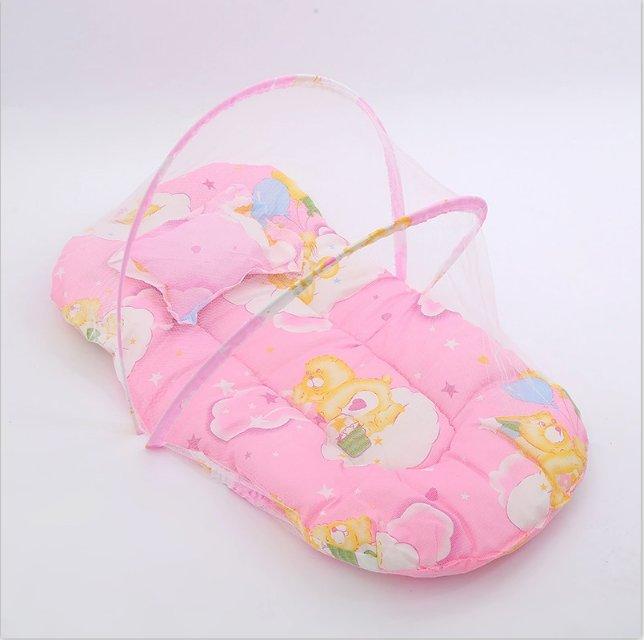 厂家直销时尚环保新款蚊帐婴儿蚊帐105抱被
