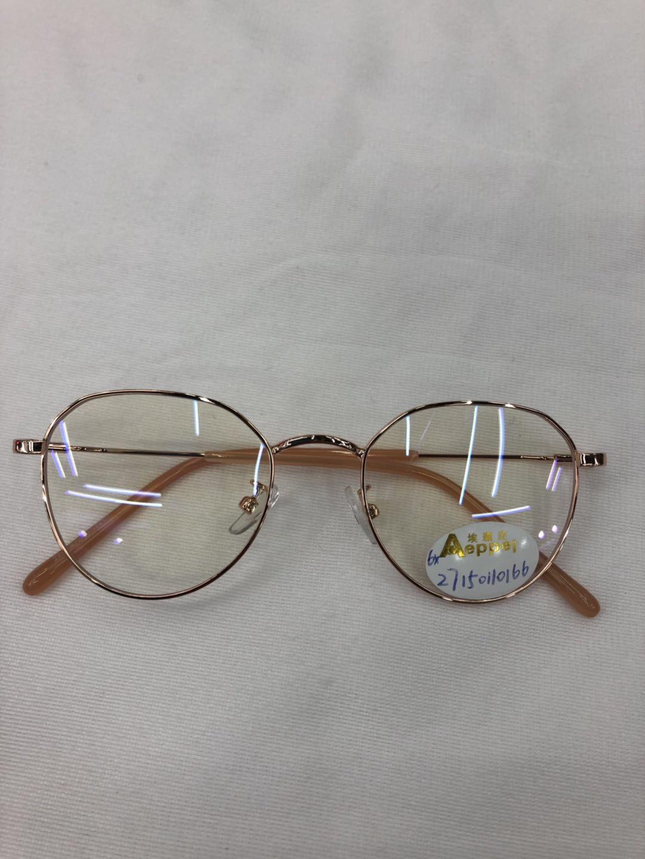 义乌好货 新品时尚金丝系列学生近视镜护目镜