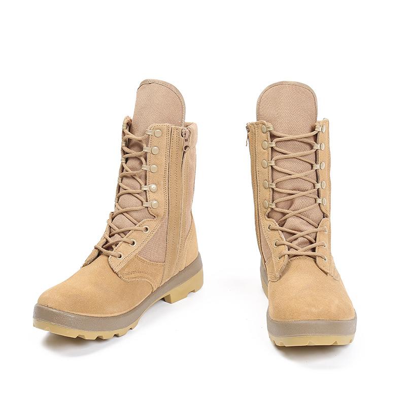 厂家直销军迷户外登山鞋防美战术靴高帮COMBAT ALTAMA沙漠靴