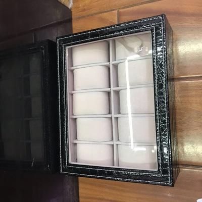 网红款创意男士手表收纳盒腕表戒指潮品欧式首饰盒饰品盒礼品表盒