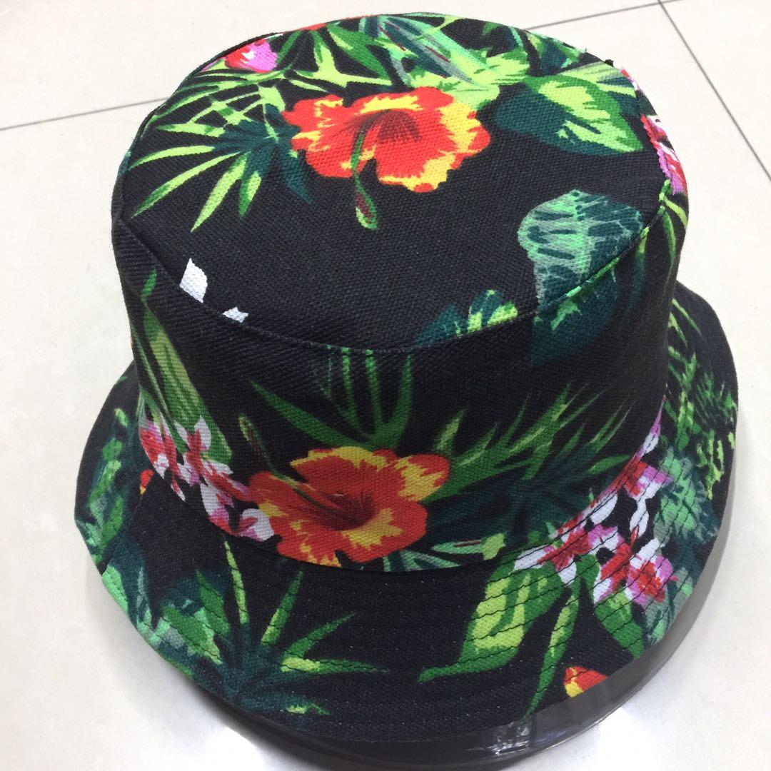 花形渔夫帽遮阳可折叠盆帽
