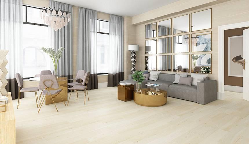 大艺树凯西尔橡木北欧原木色客厅卧室环保耐磨