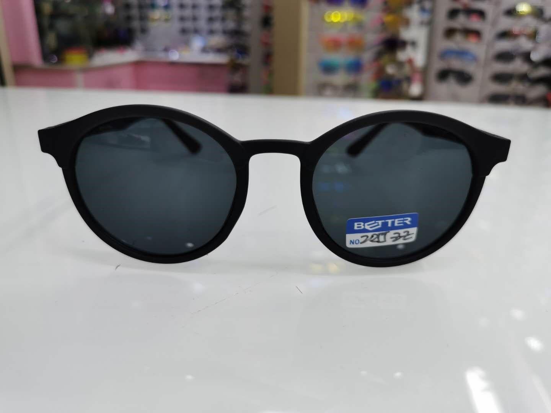 新品时尚大框墨镜圆框太阳镜钓鱼偏光镜潮人高档男士2055