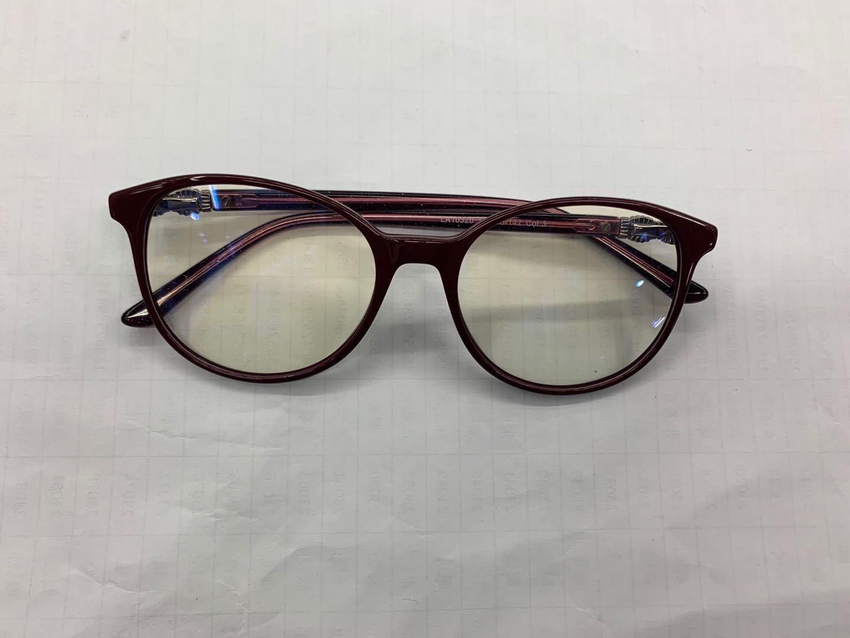 防辐射眼镜大框蝶形粗架时尚眼镜架黑