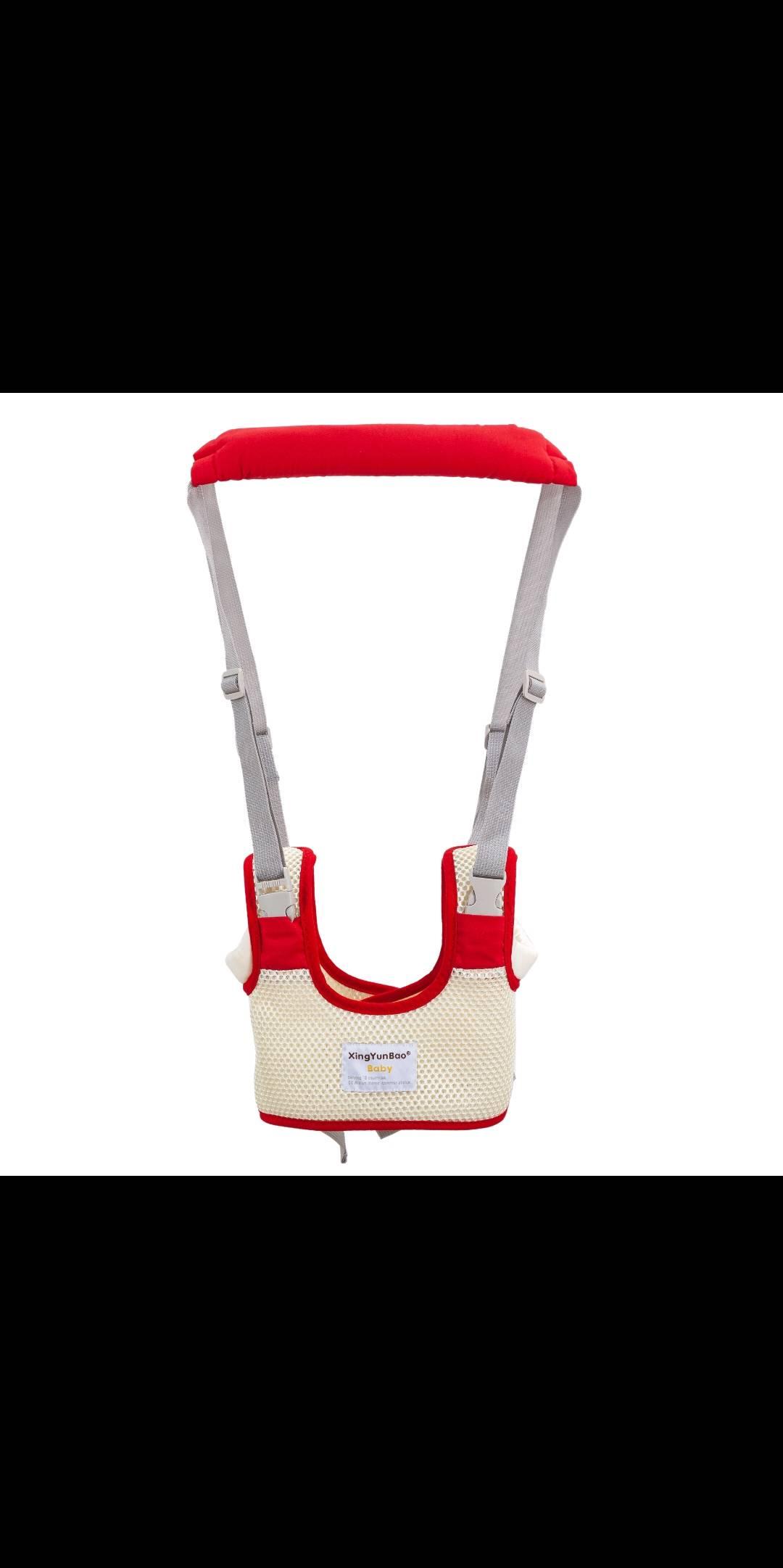 星韵宝学步带多功能透气婴儿马甲式学步带夏季提篮式透气学步带