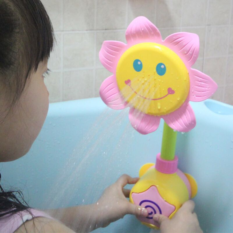 儿童洗澡花洒玩具浴室戏水游泳宝宝婴儿公主小孩女孩男孩套装组合