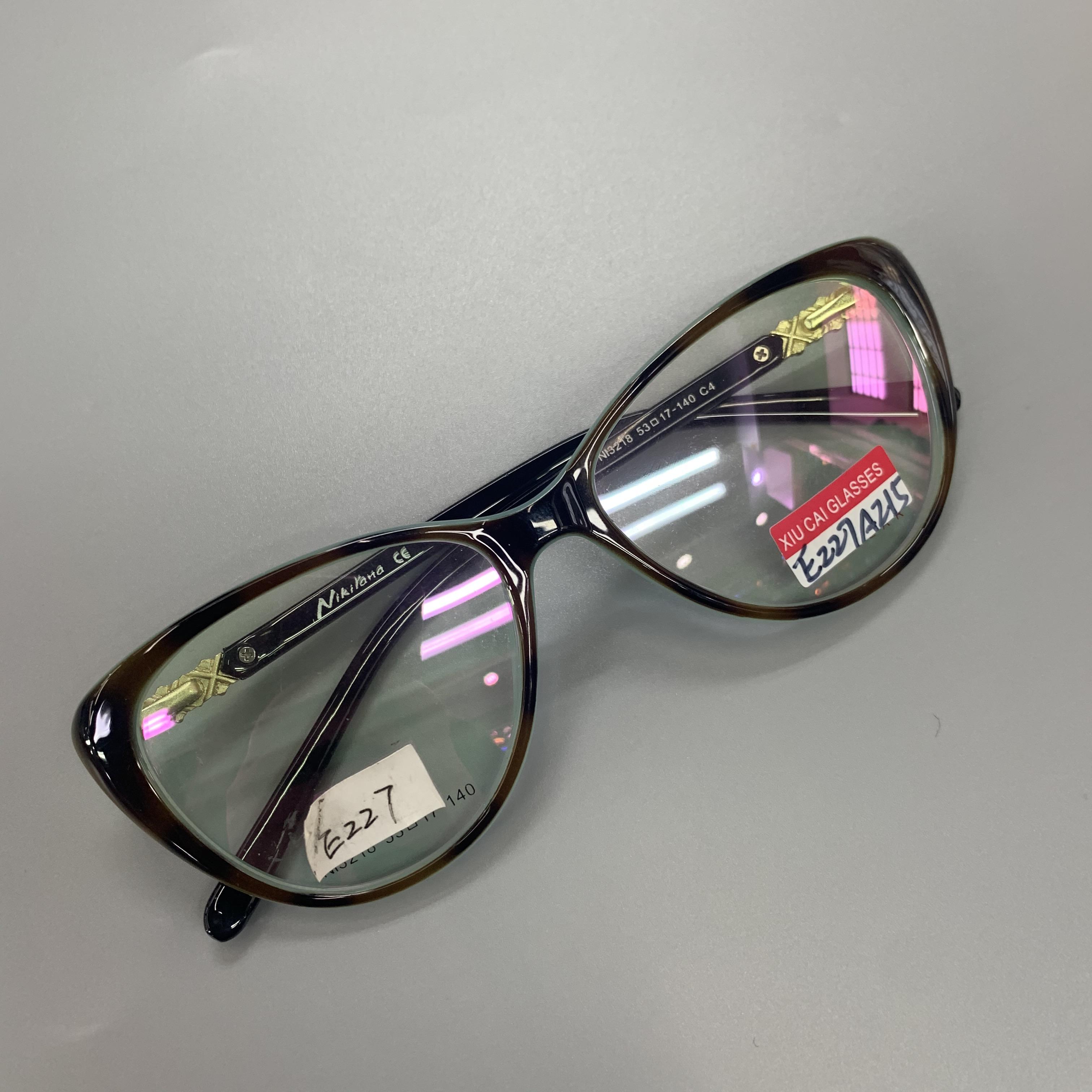平光镜防蓝光辐射眼镜女近视抗疲劳眼睛大圆框防蓝光辐射眼镜