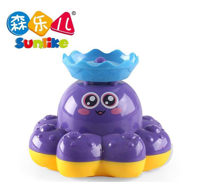宝宝洗澡玩具男孩女孩电动喷水八爪鱼婴儿童浴室戏水