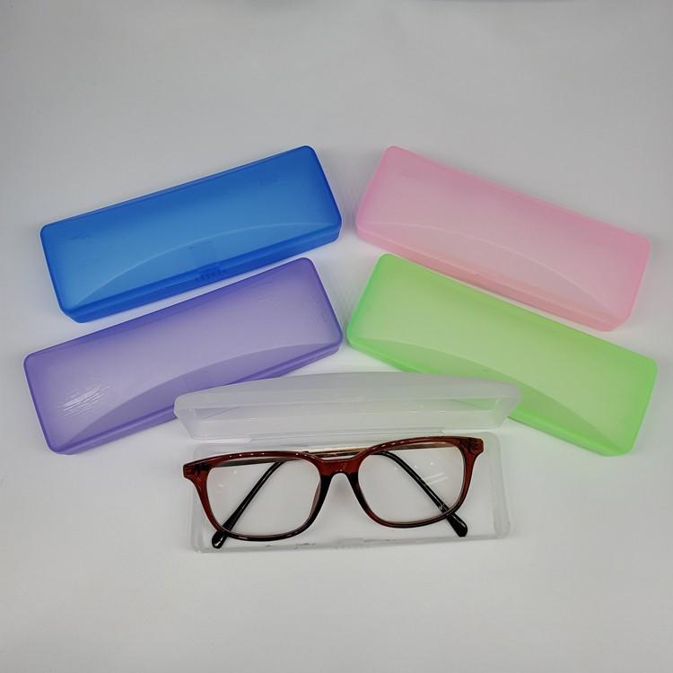 塑料眼镜盒光学眼镜近视老花眼镜眼镜盒男女款通用多色7007