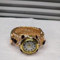 外贸出口欧美风复古镶钻手表拍照必备时装表