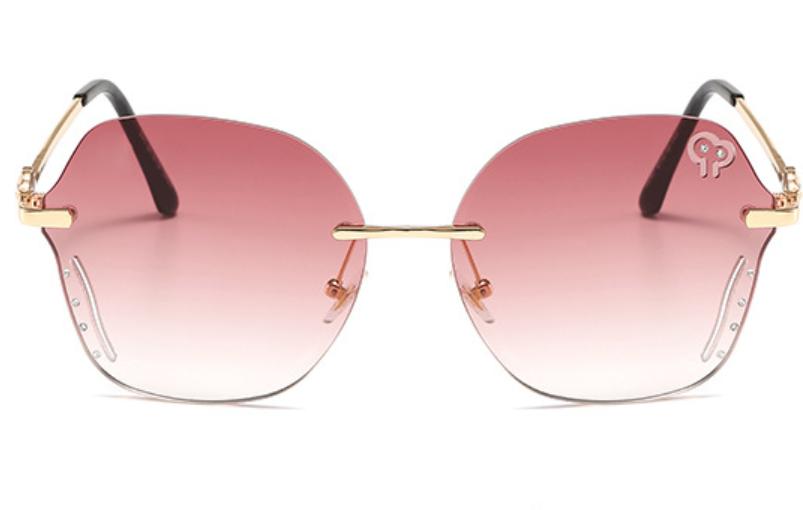 新品时尚墨镜大框方框太阳镜偏光镜韩版网红潮人高档彩色PC女士款1961
