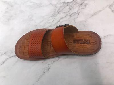 2020夏季舒适真皮两穿凉拖鞋男士透气沙滩鞋