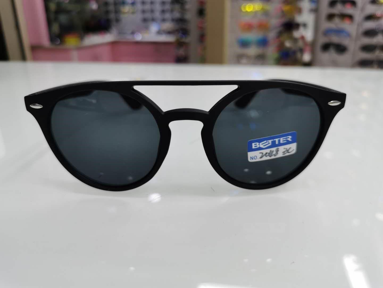 新品时尚大框墨镜圆框太阳镜钓鱼偏光镜潮人高档男士2048