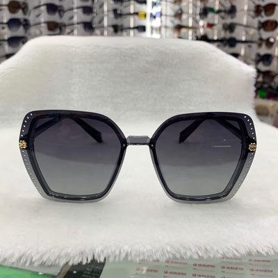 太阳眼镜墨镜六边形设计女式