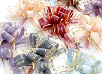 婚庆用品礼品鲜花包装雪纺拉花开业喜庆装饰生日聚会拉花