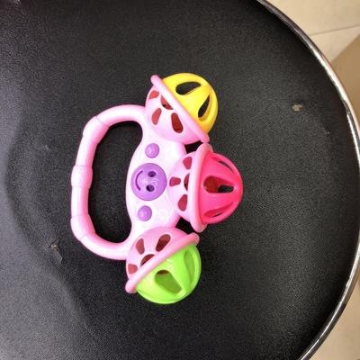 新款手摇铃玩具义乌百货包邮,最小数量为一箱数量,一箱起发货