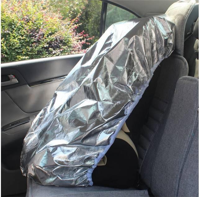 儿童汽车安全座椅 防晒遮阳罩防尘套 阻挡紫外线隔热罩工厂