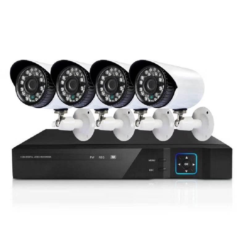 多路监控无线套装室内外wifi网络高清夜视免接线手机远程实时监控