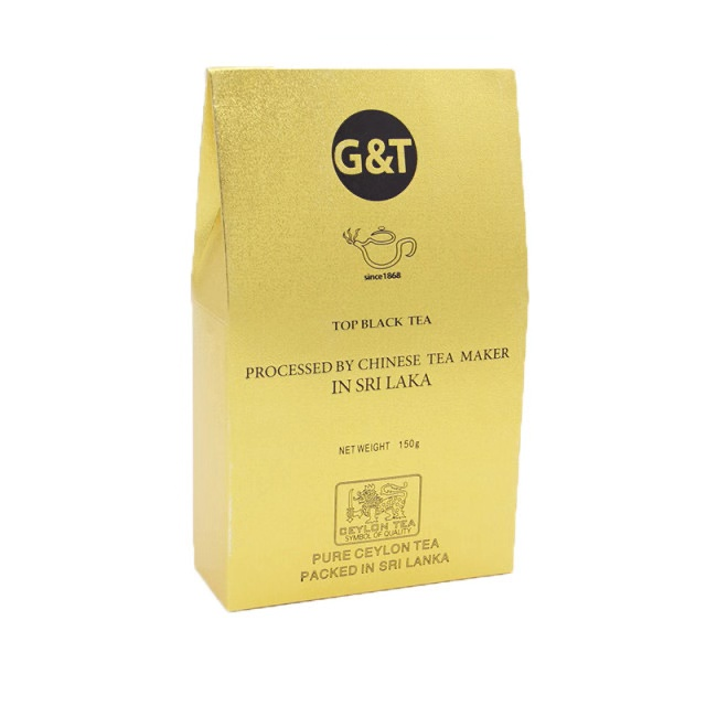 G&T斯里兰卡原装进口红茶(金色盒)150g
