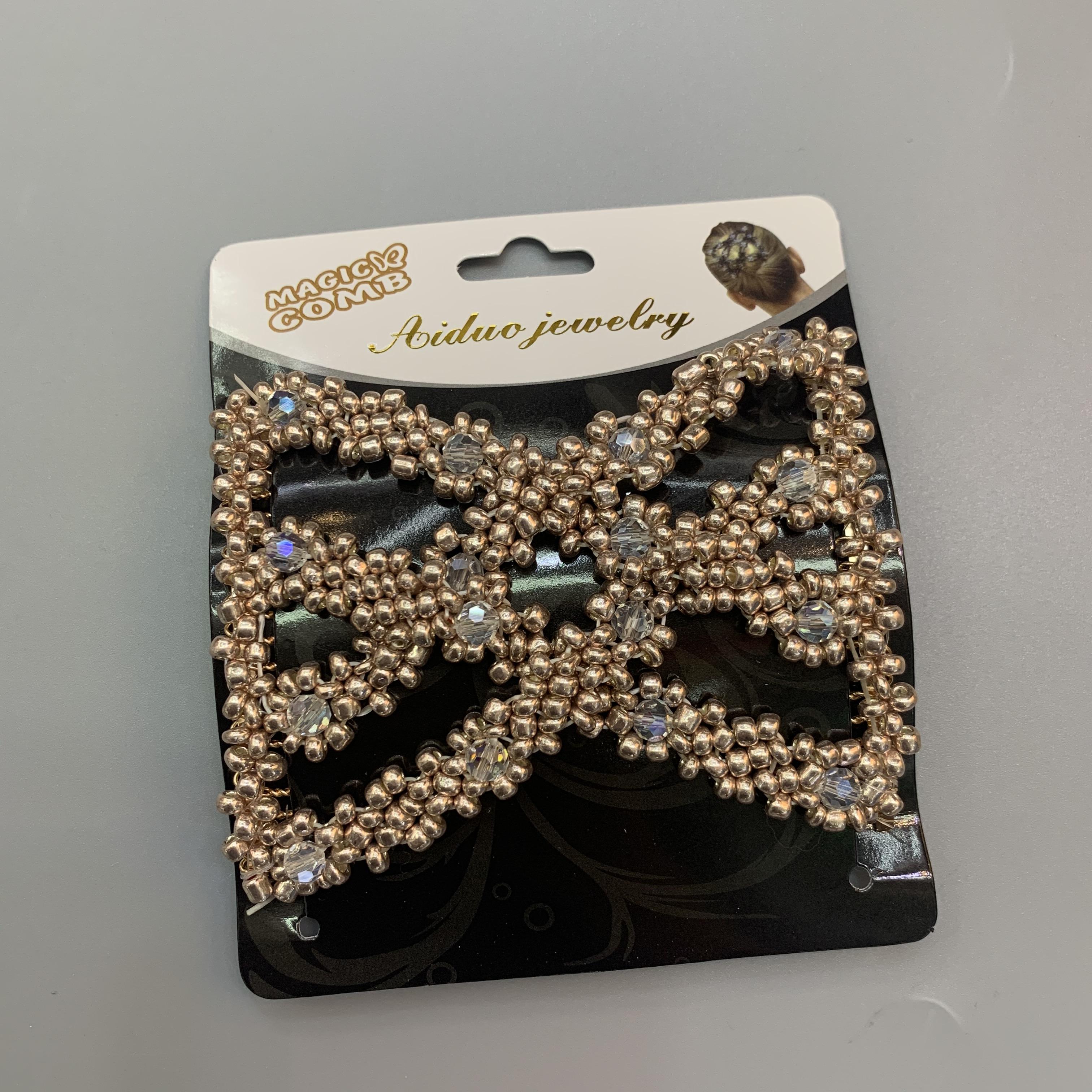 韩式盘发插梳发梳子新娘发卡子头饰盘发器插针时尚伴娘发夹发簪子