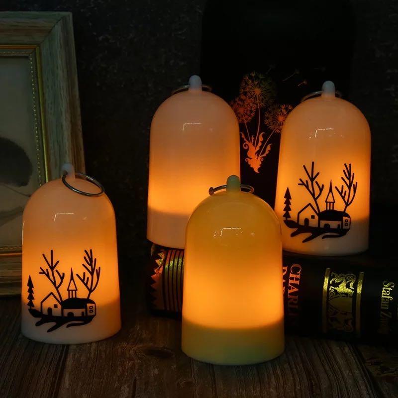 悬挂led电子仿真蜡烛灯 浪漫充电蜡烛婚礼路引摆件酒店生日店庆装饰品