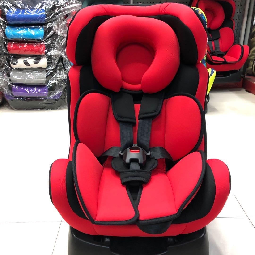 0-6岁大红色儿童安全座椅汽车用品 / 安全/应急/自驾 / 汽车儿童安全座椅