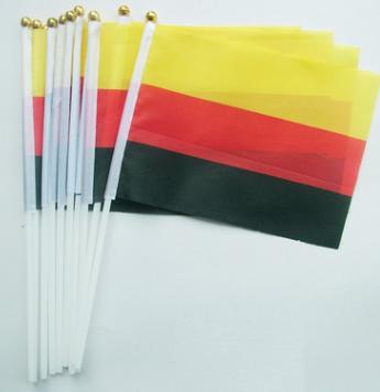 定制世界各国国旗优质8号德国小国旗手摇旗手挥旗