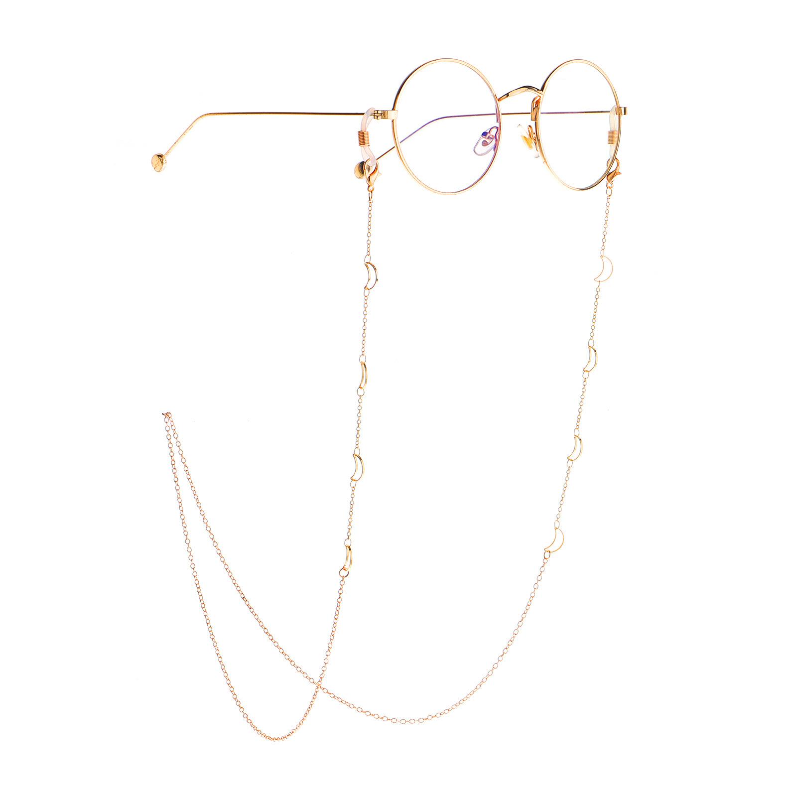 眼镜链女挂脖网红链子潮人时尚装饰挂件复古防滑绳眼睛墨镜带链条
