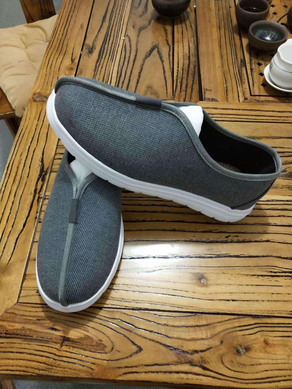 中国风西山男鞋休闲鞋中式古装复古罗汉僧鞋耐磨居士布鞋