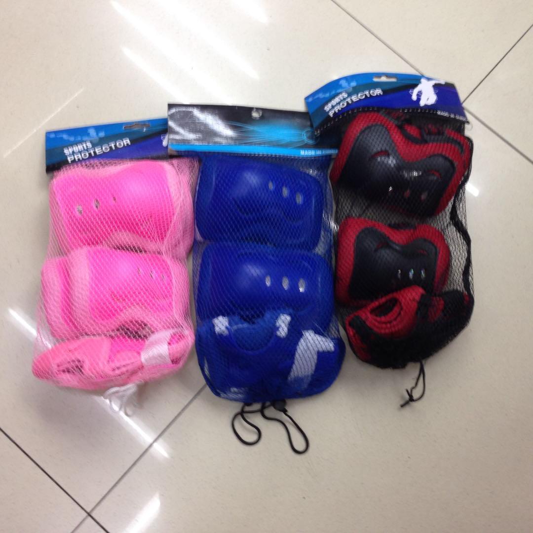 溜冰鞋护具六件套保护身体物廉价美开心娱乐