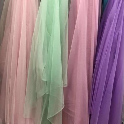 纯色网纱有垂感高密服装饰品玩具床幔等