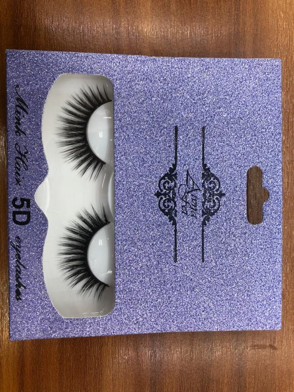 5D假睫毛女自然浓密立体素颜仿真硬梗撑双眼皮空气睫毛A7