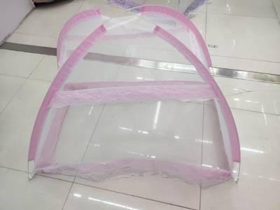 新款批发厂家直销粉色婴儿床帐直购