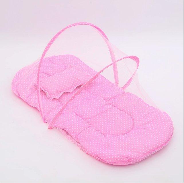 厂家直销时尚环保型号110婴儿蚊帐95抱被