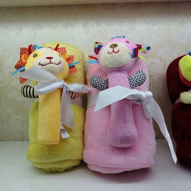 小孩子浴巾儿童可穿纯棉新款男女童卡通连帽