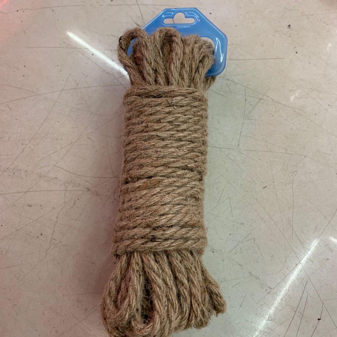 高密度大拉力棉麻捆绑绳