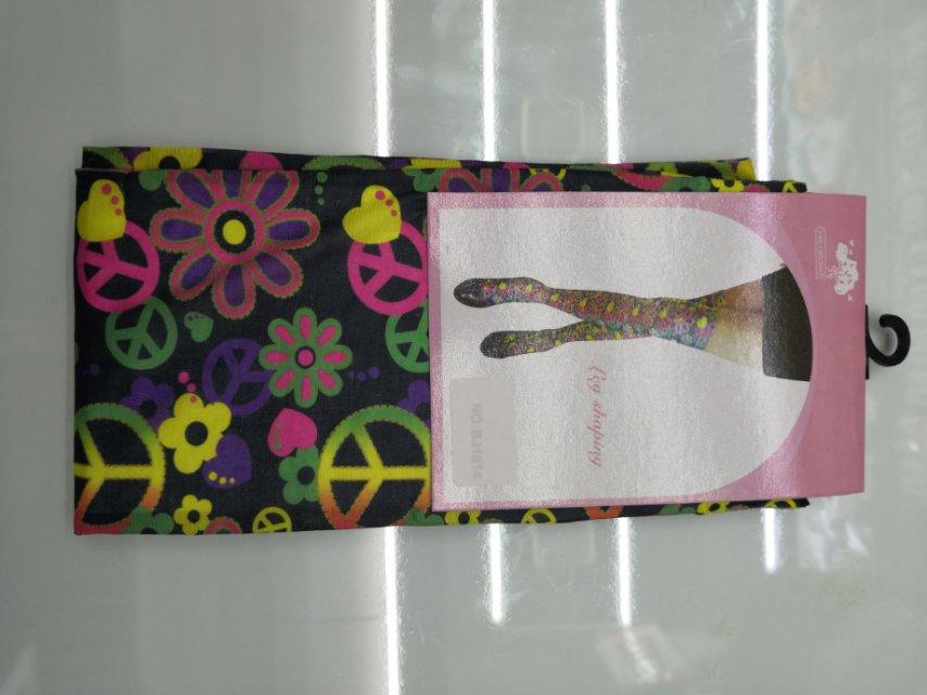 厂家直销万圣节用涤纶袜子和平符号传统袜节日用品