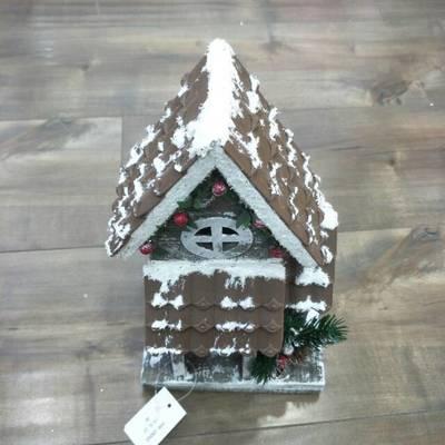 厂家直销泡沫欧美风小房子圣诞礼品节日礼物