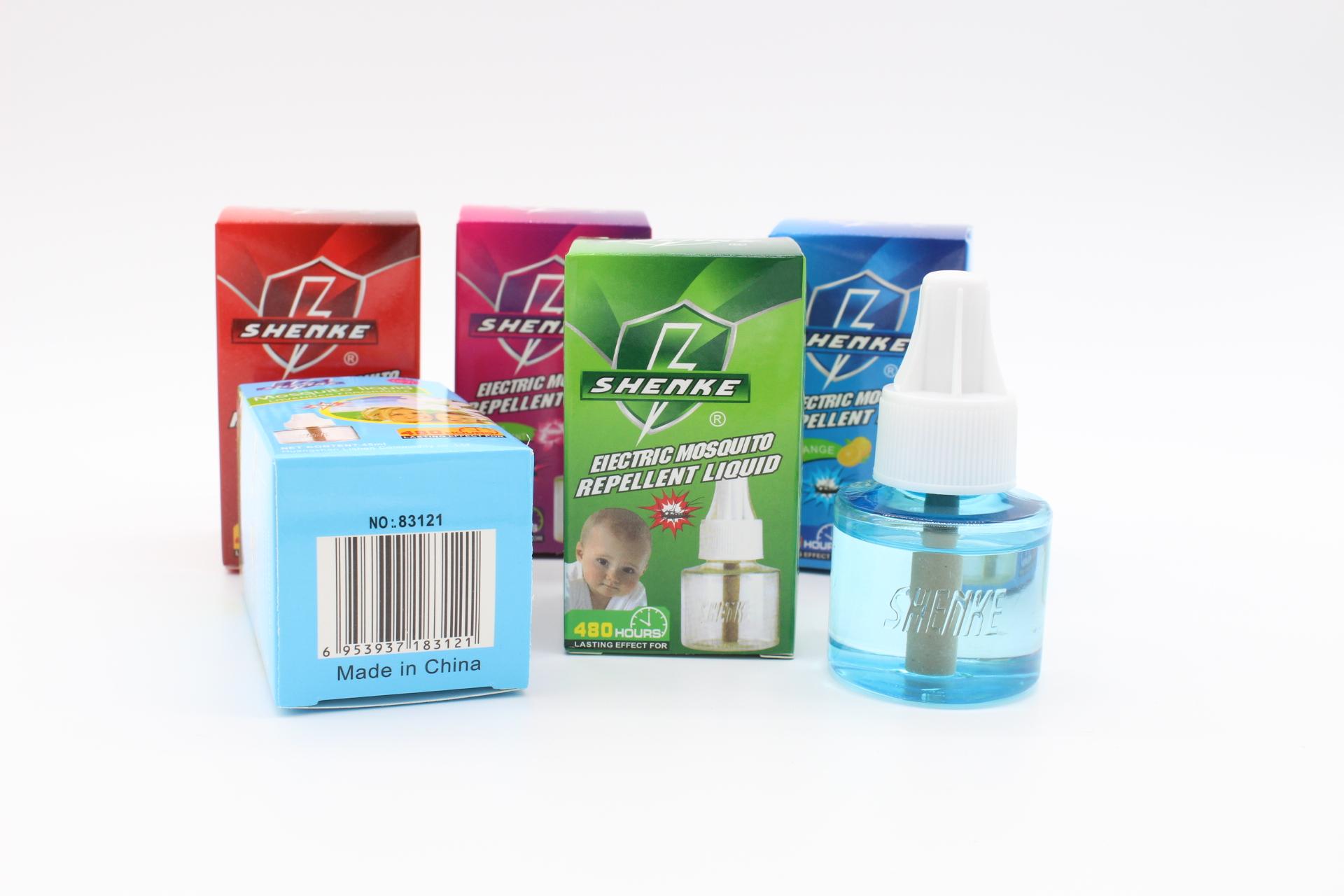 电热电蚊香液45ml瓶子药液蚊香水驱蚊液