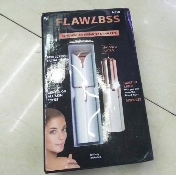 Flawless 口红式剃毛器 女士电动脸部刮毛刀 便携美光去毛脱毛
