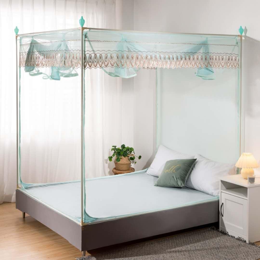 MROEN新款坐床睡帐2米夏天通透环保