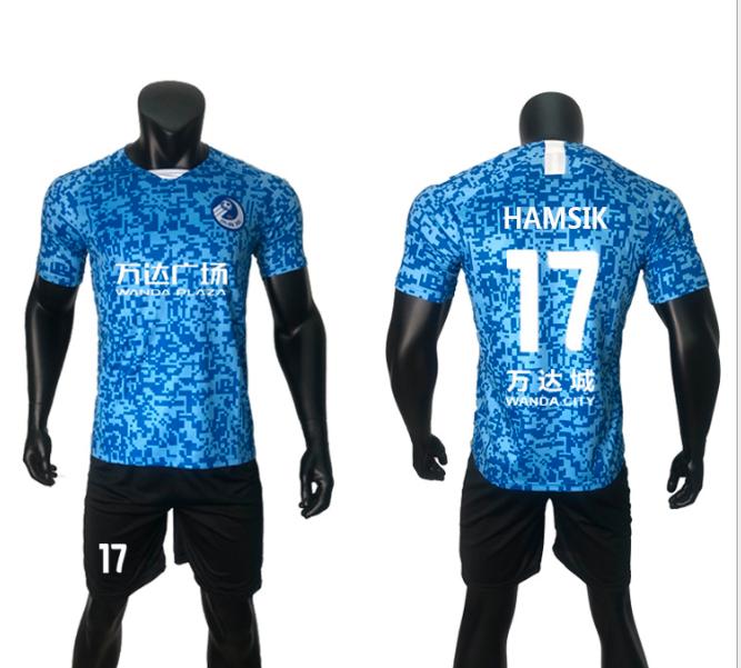 批发零售大连人球衣2020赛季中超一方足球服大连人队服球迷服定制