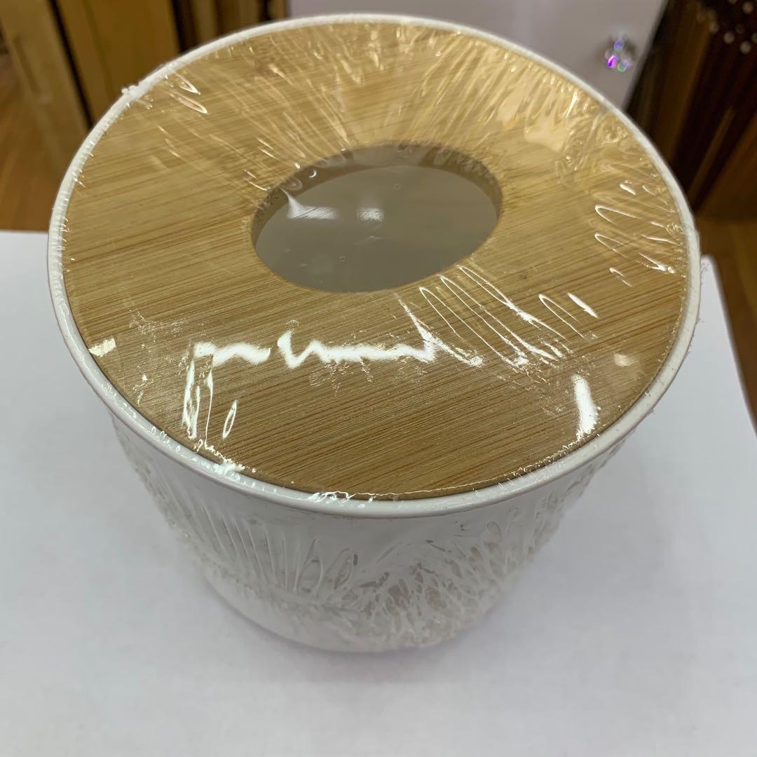 花盆木制盖子日用百货居家生活花盆装饰摆件