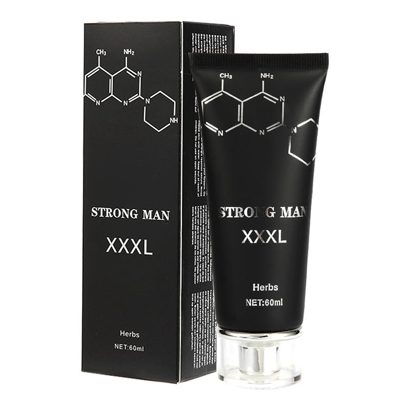 60MLQTTO香港BIGXXL增大按摩膏男士阴茎按摩膏外贸英文版