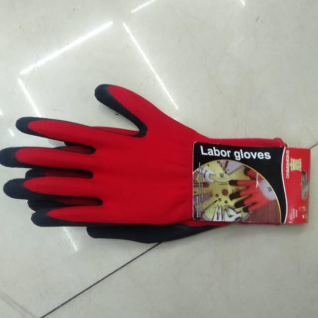 丁腈防滑浸胶手套