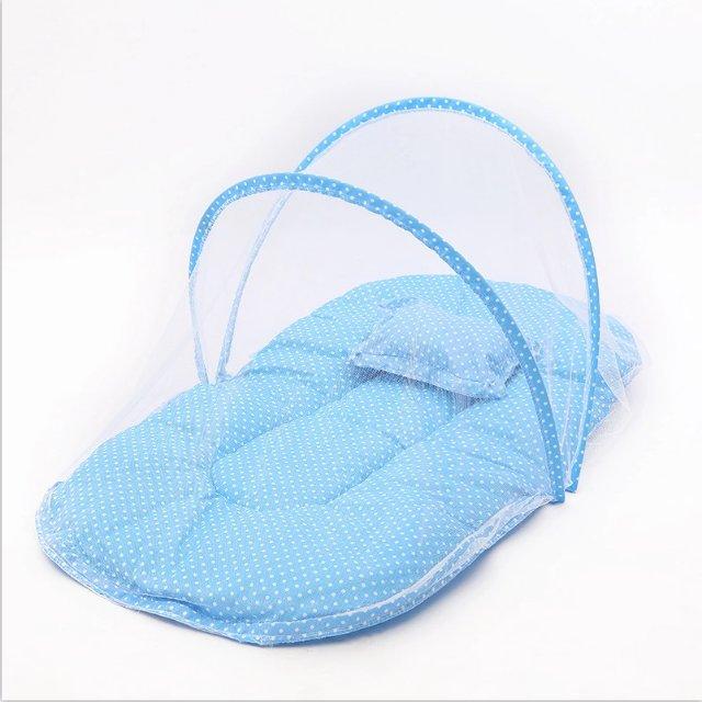 厂家直销时尚环保新款蚊帐婴儿蚊帐105抱被加拉链