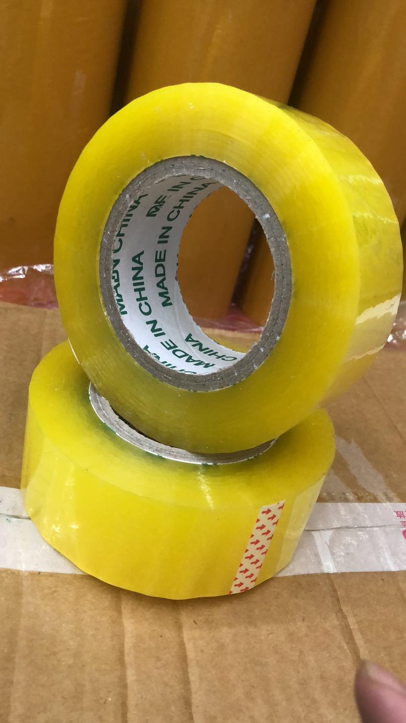 高粘透明胶带 快递打包胶带 封箱胶带 55mm*150m