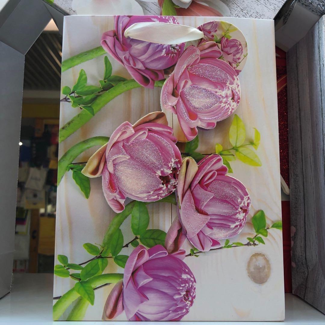 精品花朵粉色花苞卡通礼盒纸盒创意礼品盒包装