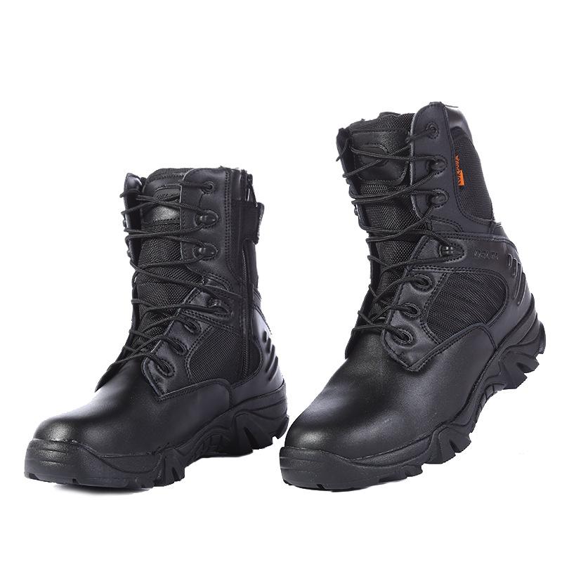 厂家直销军迷户外登山鞋作训鞋战术高帮三角洲DELTA沙漠靴