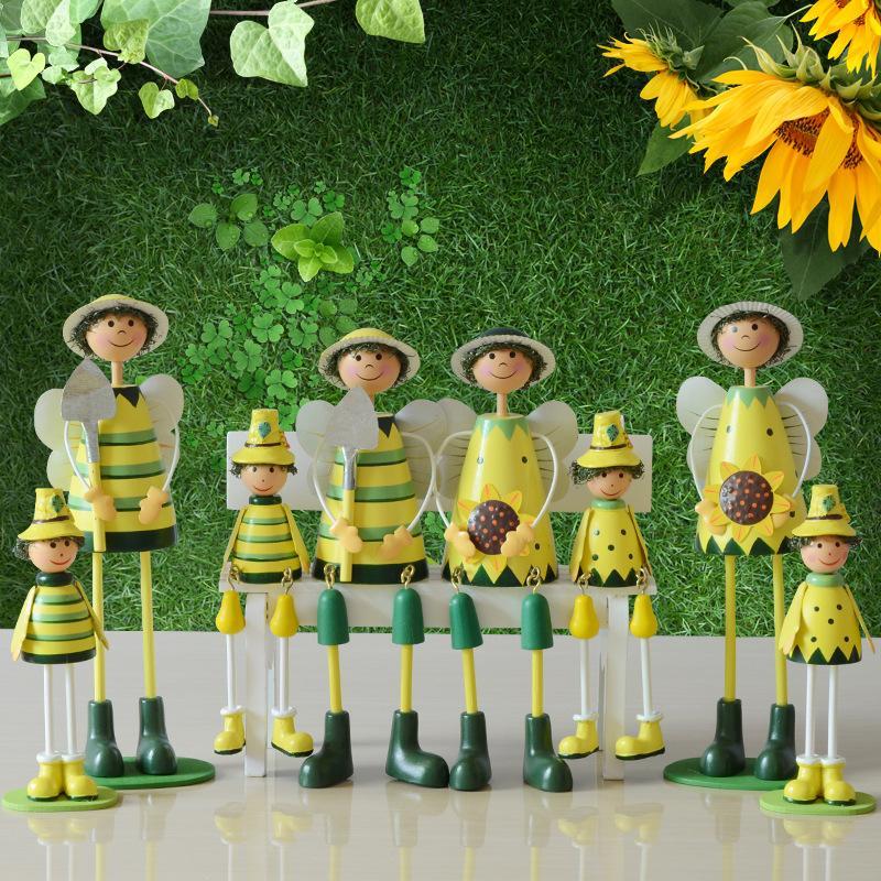 木质工艺品家居电视柜摆件一件代发 创意木偶娃娃摆件会议小礼品